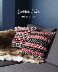 "Debbie Bliss ""Scandinavian Cushions"" Rialto DK Knitting Pattern Leaflet (#031)"