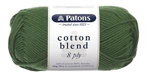 "Patons 50g ""Cotton Blend"" 8-Ply Cotton & Acrylic Yarn"