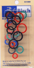 Birch Flat Ring Markers - 24 Pack