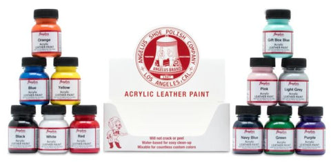 Angelus 29ml (1oz) Acrylic Leather Paint
