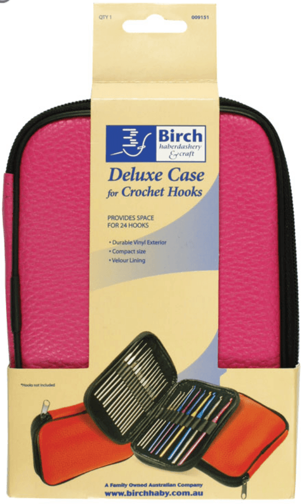 Birch Deluxe Crochet Hook Zipup Case  | KNITTING CO. - 1