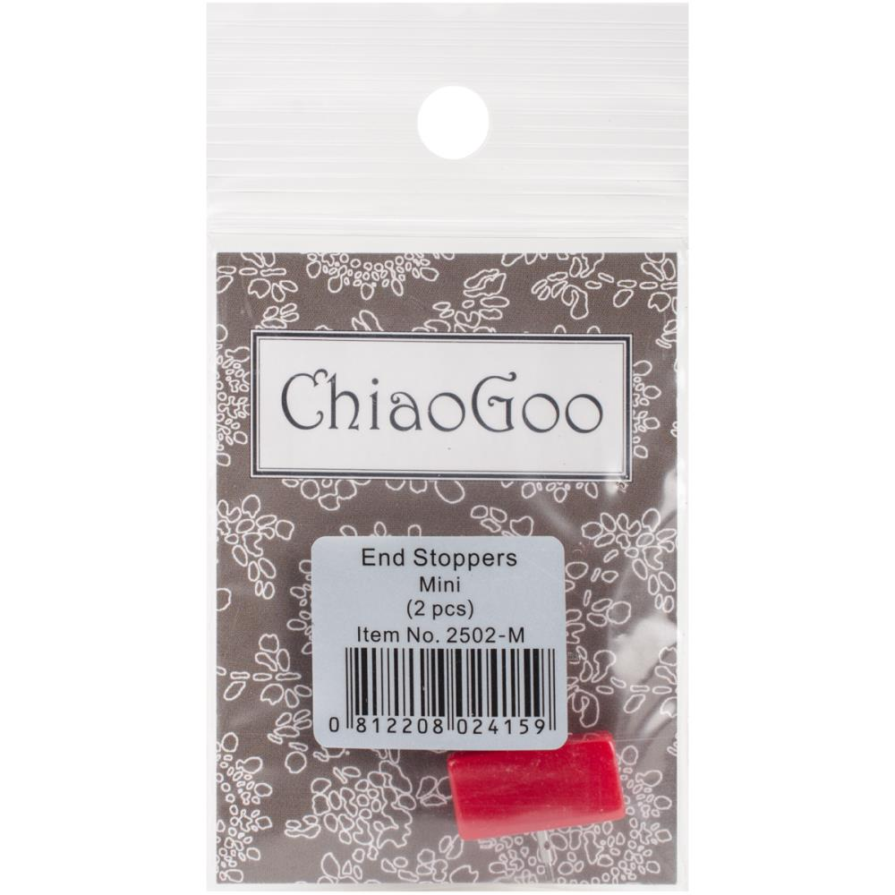 ChiaoGoo Interchangeable Cable End Stoppers - Set of 2
