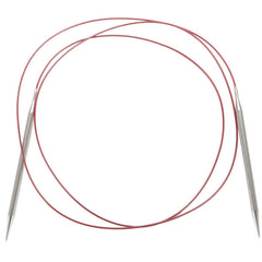 "ChiaoGoo Red Lace Stainless Steel Circular Knitting Needles - 150cm (60"")"