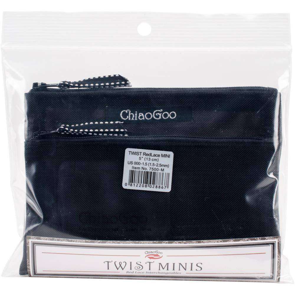 "ChiaoGoo TWIST IC 5"" (13cm) Circular Knitting Needles - Mini Set  