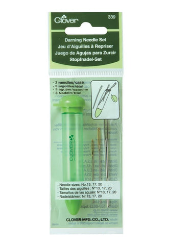 "Clover ""Chibi"" Darning Needle Set w Case - 3 Pack"