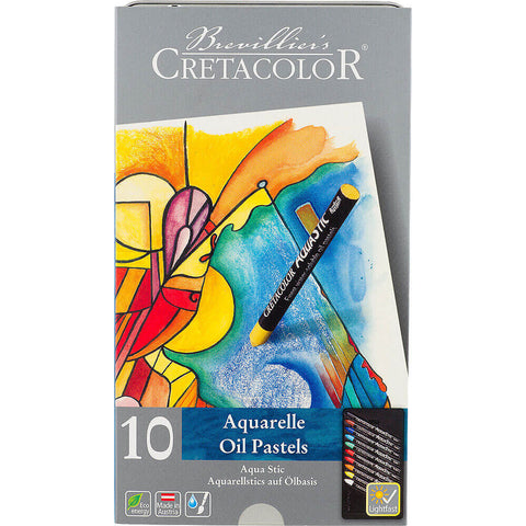 Cretacolor Aqua Stic Watersoluble Oil Pastel Sets (Choose Your Size)