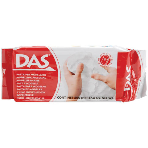 DAS Air Dry Modelling Clay - White