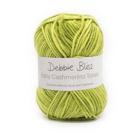"Debbie Bliss 50g ""Baby Cashmerino Tonal"" 5-Ply Wool/Cashmere Blend Yarn"