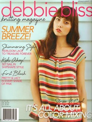 Debbie Bliss Knitting Magazine - Spring/Summer Pack