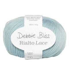 "10 x 50g Debbie Bliss ""Rialto Lace"" 2-Ply Extra Fine Merino Yarn  