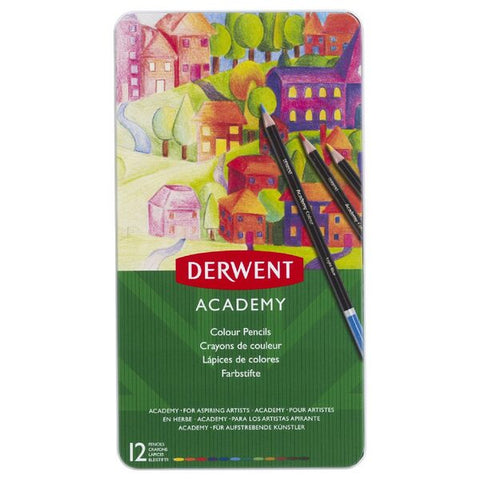 "Derwent ""Academy"" Colour Pencil Set - Choose Your Size"