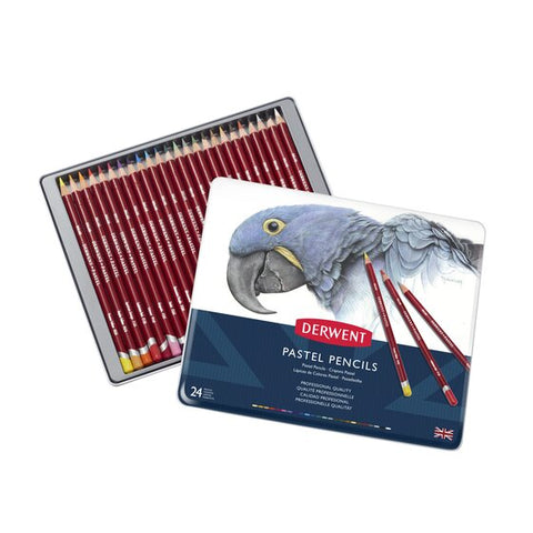 "Derwent ""Pastel"" Colour Pencil Set - Choose Your Size"