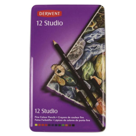 "Derwent ""Studio"" Colour Pencil Set - Choose Your Size"
