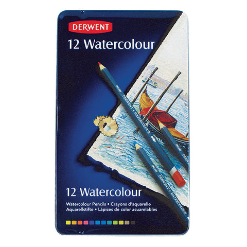 "Derwent ""Watercolour"" Colour Pencil Set - Choose Your Size"