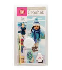 "Boye ""I Taught Myself To Crochet"" Kit - 18"" Doll Clothes"