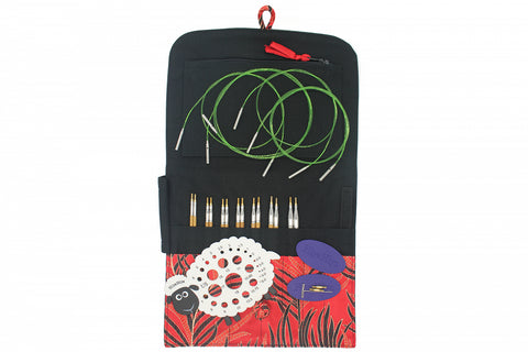 "HiyaHiya 5"" (13cm) Bamboo Interchangeable Knitting Needles - Small Set"