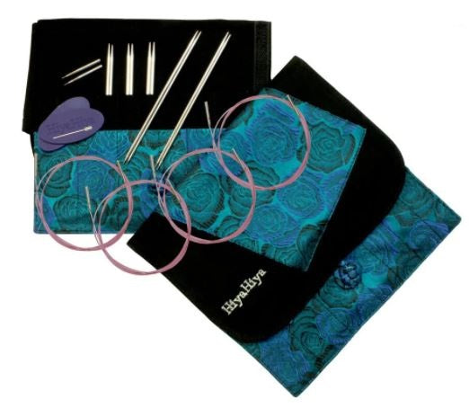 HiyaHiya Sharp Steel Interchangeable Knitting Needles - Sock Set