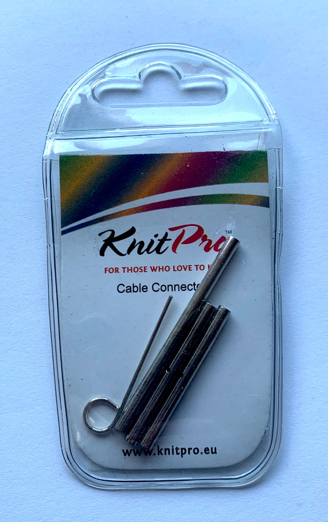 KnitPro Interchangeable Circular Knitting Needle Cable Connectors - Set of 3