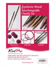 "KnitPro ""Symfonie"" Interchangeable Circular Knitting Needles - Chunky Set  