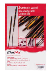 "KnitPro ""Symfonie"" Interchangeable Circular Knitting Needles - Deluxe Set  