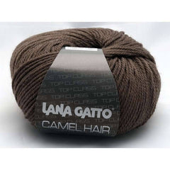 "10 x 50g Lana Gatto ""Camel Hair"" 10-Ply Camel & Merino Yarn  