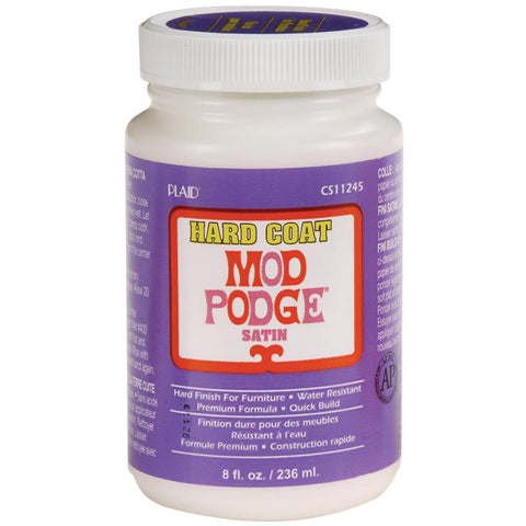Mod Podge All-In-One Finish Medium - Satin Hard Coat