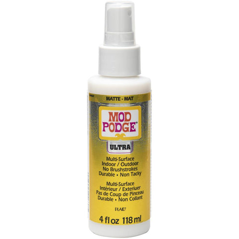 Mod Podge Multi-Surface Spray On Sealer - Ultra Matte