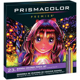 Prismacolor Premier & Verithin Colour Pencils - Manga Set of 23