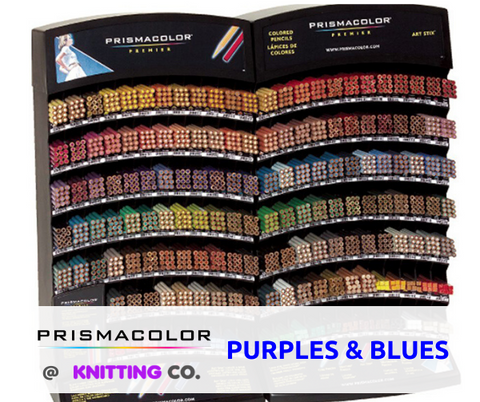 Prismacolor Premier Coloured Pencils - Purples & Blues