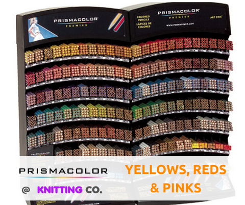 Prismacolor Premier Coloured Pencils - Yellows, Reds & Pinks