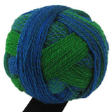 "Schoppel Wolle ""Crazy Zauberball"" 100g 4-Ply Sock Yarn 2085 Blue Green Colourway 
