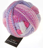 "Schoppel Wolle ""Crazy Zauberball"" 100g 4-Ply Sock Yarn 2254 Pink Colourway 