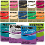 Sculpey Premo! & Premo Accents Polymer Modelling Clay - 5 Pack