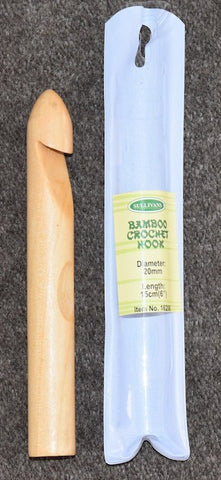 Sullivans Jumbo Bamboo Wood Crochet Hook (12mm-20mm)  | KNITTING CO. - 1