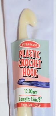 Sullivans Jumbo Plastic Crochet Hook (12mm or 15mm) 12.00 | KNITTING CO. - 1