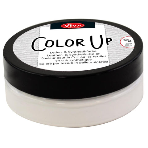 "Viva Decor ""Color Up"" Leather & Synthetic Fabric Paint - Choose from 9 Colours"
