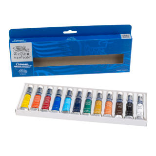 Winsor & Newton Cotman Watercolour Paint - 8ml Tubes Set