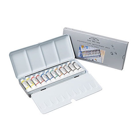 Winsor & Newton Professional Watercolour Paint - Lightweight Box Tube Set