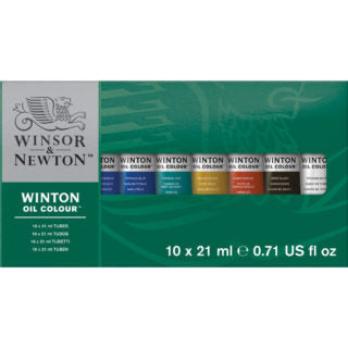 Winsor & Newton Winton Oil Colour Paint - Basic Tube Set