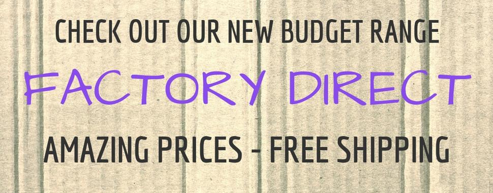 Budget Factory Direct Craft Range