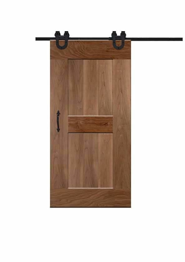 The Standard In Walnut Wood Doors