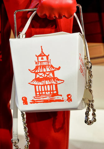 Kate Spade Chinese Takeout bag