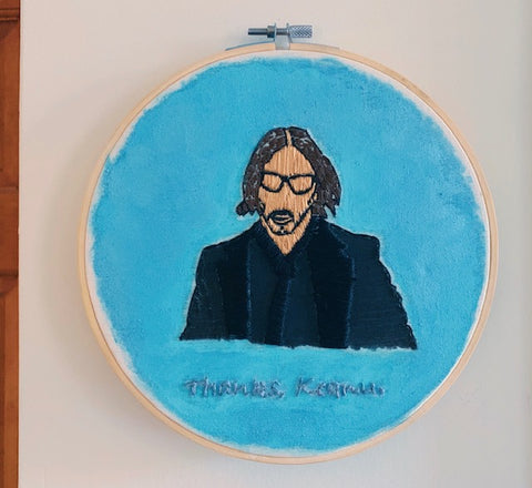 Thanks Keanu Embroidery