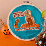 Happy Halloween From Kelly Embroidery