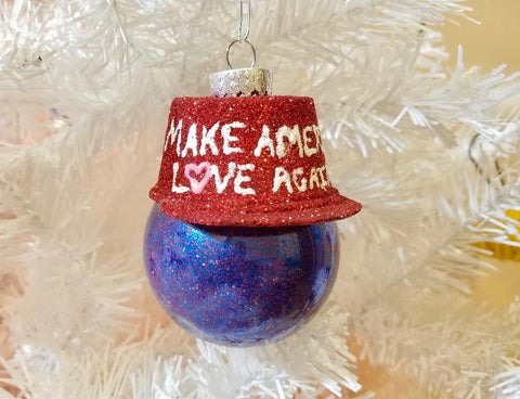 MALA Hat Christmas Ornament (Various Colors)