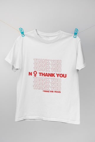 NO Thank You T-Shirt (More Colors)
