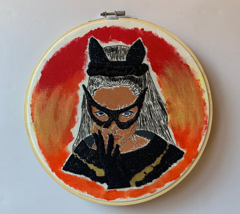 Purrrfect Embroidery