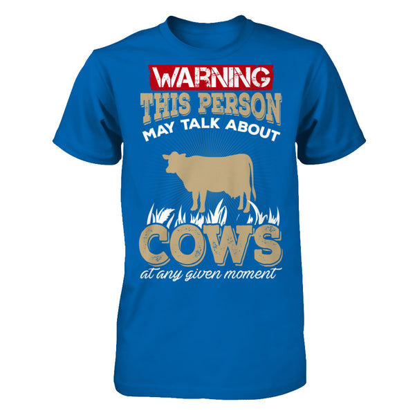 Warning Cows