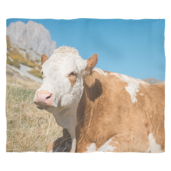 Simmental Fleece Blanket