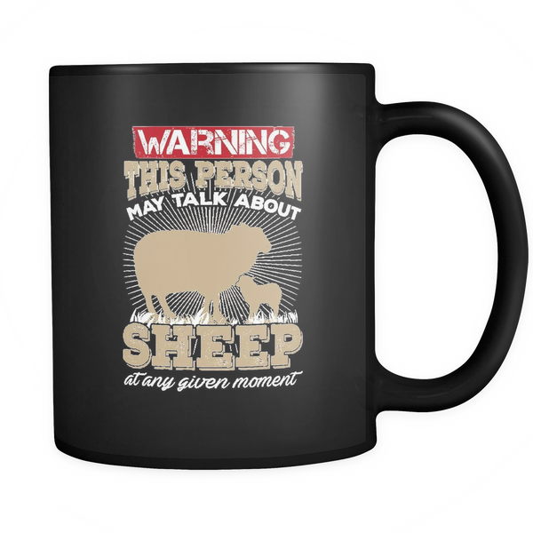 Warning Sheep Mug